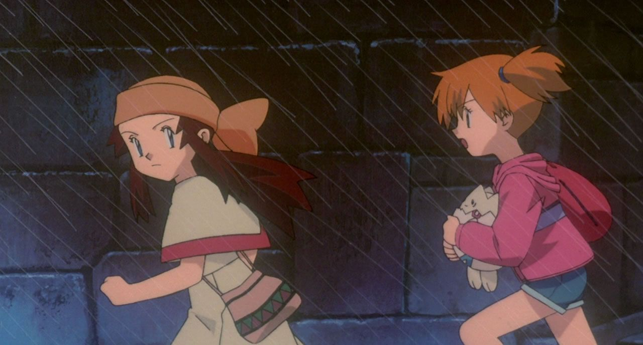 Melody And Misty Running To Carol S Boat To Go And Look For Ash