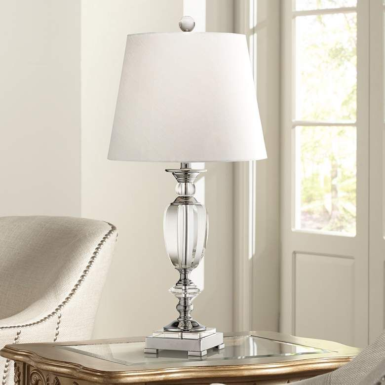 Vienna Full Spectrum Beveled Crystal Urn Table Lamp M0473 Lamps Plus In 2020 Table Lamp Traditional Table Lamps Lamp