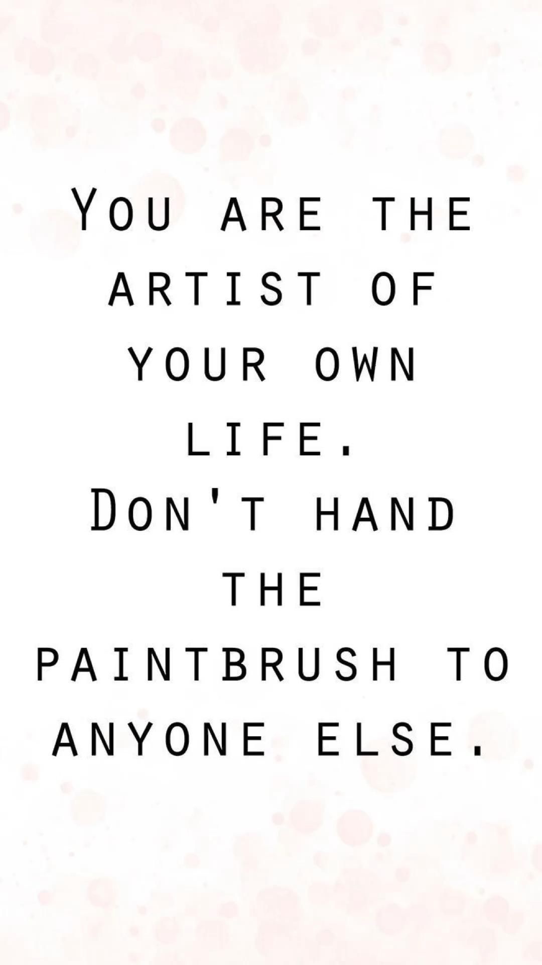 Be your own Artist