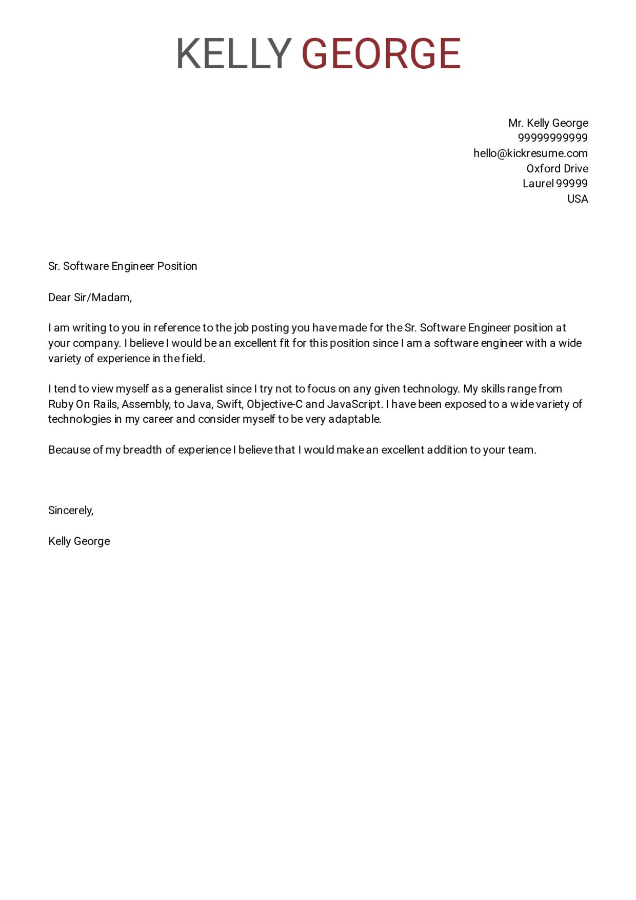 Cover Letter Software Engineer New Grad from i.pinimg.com