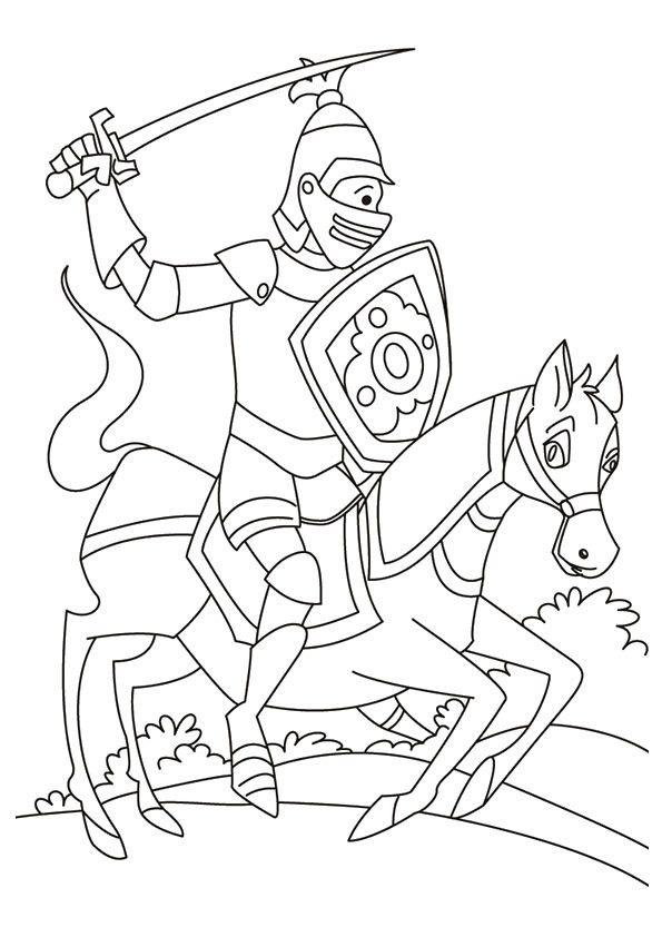 Pin On Horse Coloring Page