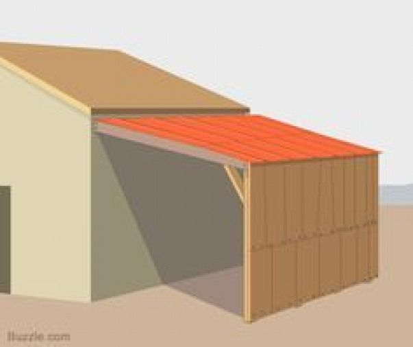 How to Build a Strong and Sturdy Lean-to Roof # ...