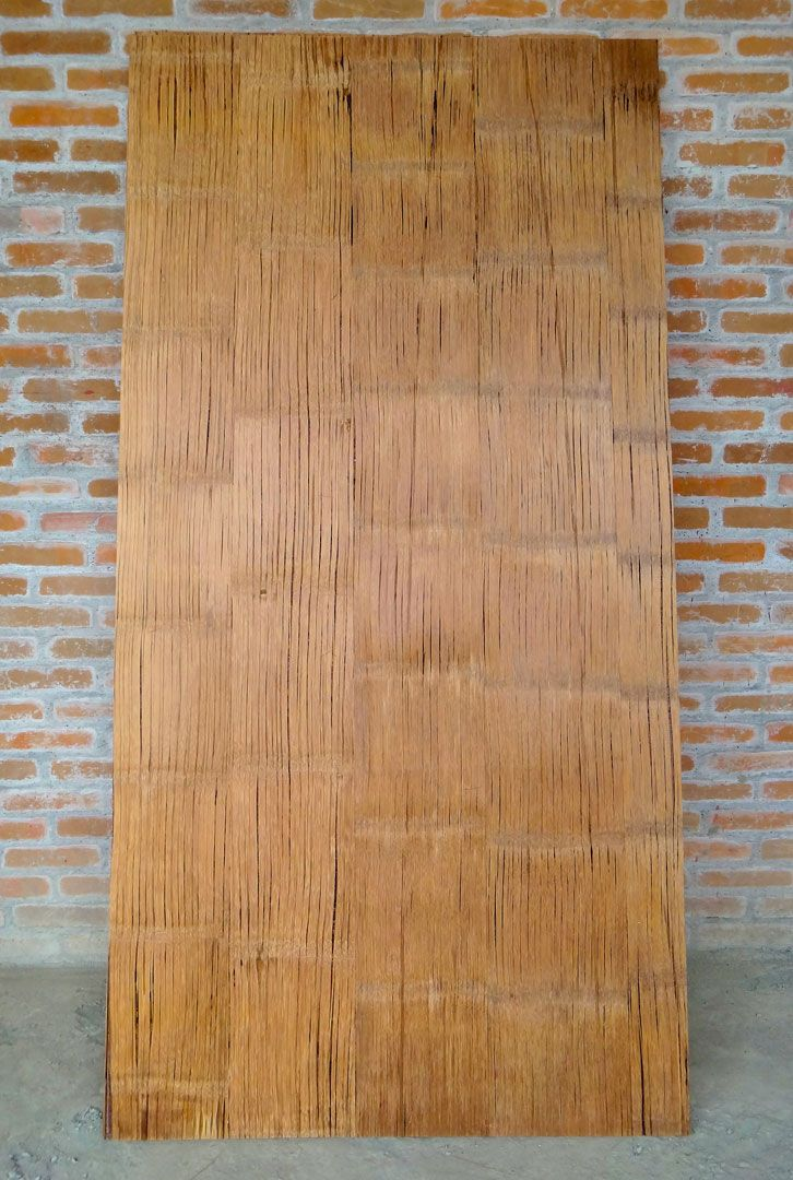 Crushed Bamboo Panel The Newest Innovation In Sustainable Building