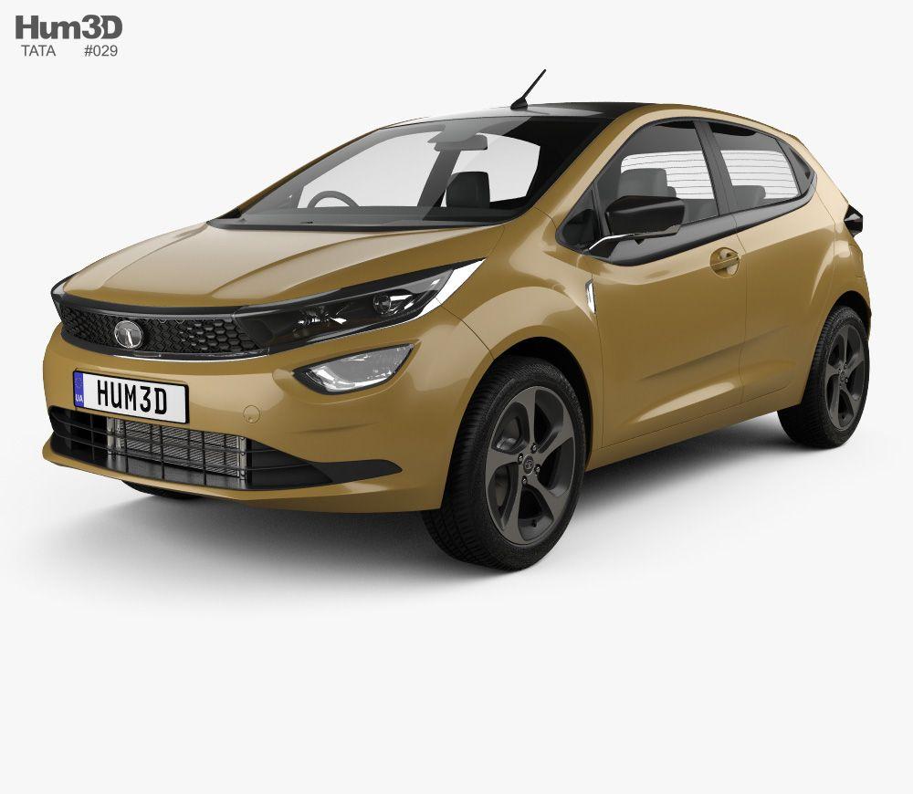 3d Model Of Tata Altroz 2020 Tata 3d Model Car 3d Model