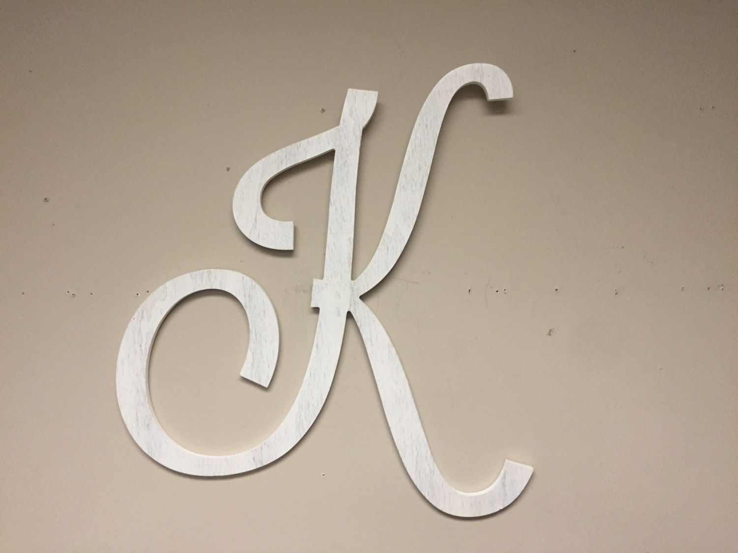 Extra Large Letter K Home Wall Decor Wall Hanging Wall Decal Letter Decor Free Standing Wedding De Decorative Letters Wooden Initials Kids Room Wallpaper