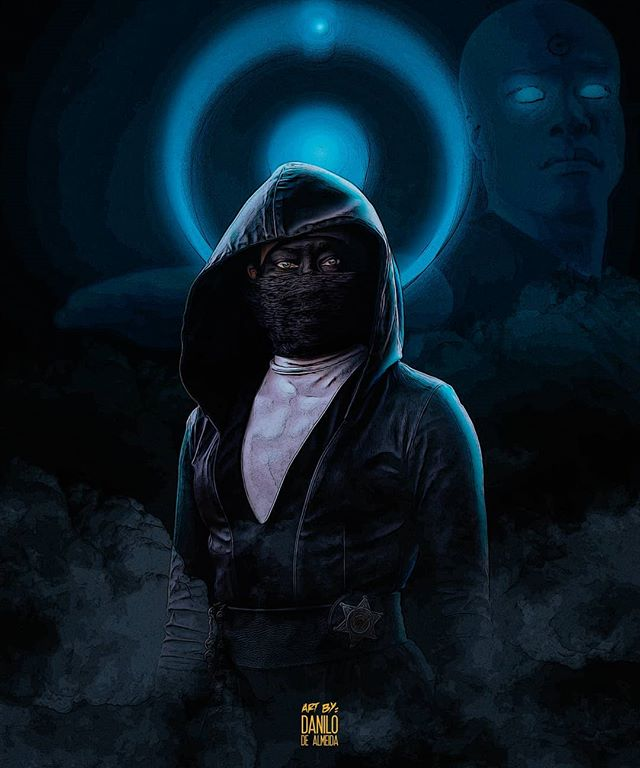 One Of The Best Tv Shows Of This Year Watchmenhbo Sisternight Angelaabar Reginaking Drmanhattan Watchmen Dc Dc Indie Comic Watchmen Hbo Popular Artists