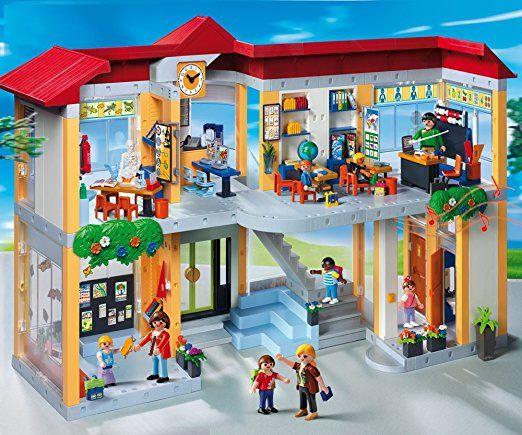 Amazon De Playmobil 4324 Grosse Schule Mit Einrichtung Playmobil Pferde Playmobil Polizei Playmobil Reiter Playmobil Playmobil Schule Aufbewahrung Playmobil
