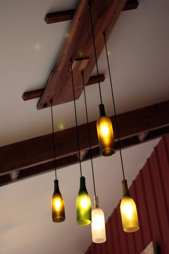 Items similar to stunning wine bottle lights for that just right glow on etsy