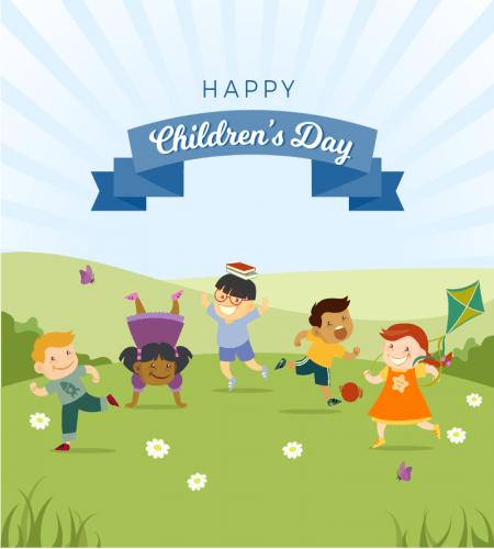 خلفية فرحة الاطفال جميله ورائعه ملف مفتوح Happy Children S Day Child Day Happy Kids