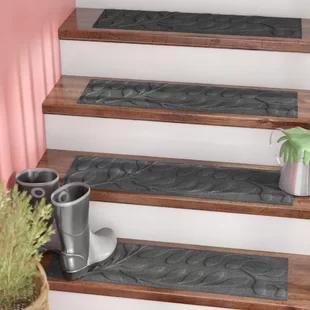 Best Outdoor Step Treads Wayfair Stair Treads Black Stairs 400 x 300