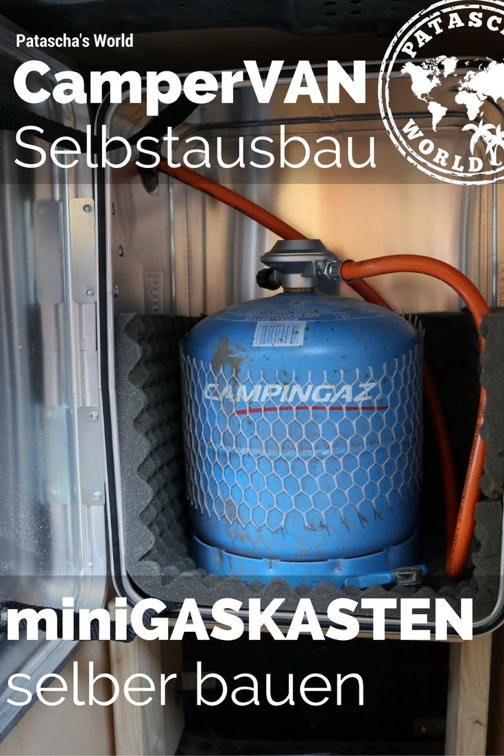 Top Mini Gaskasten selber bauen / Vom Lieferwagen zum Campervan   *ॐ XN72