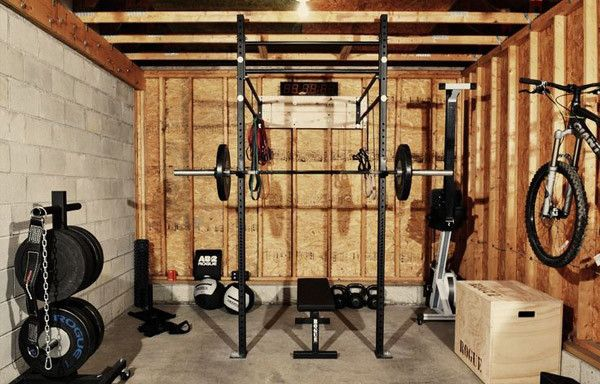 Garage Gym For A One Car This Is So Badass Go Rogue