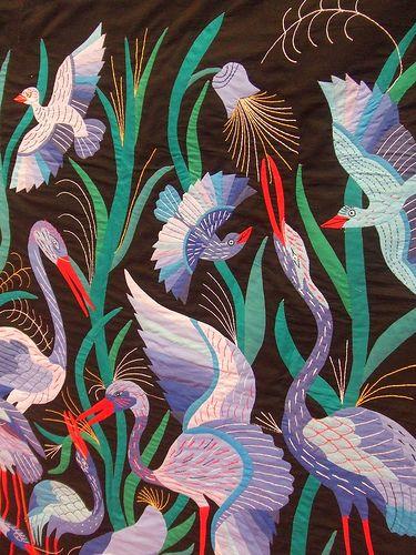 Birds in the marsh, Tentmakers of Cairo, FoQ 2011. | Flickr