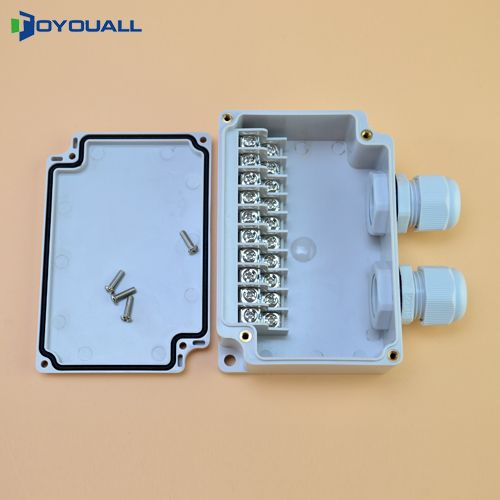 Ip65 Waterproof Junction Box 110 75 43mm Terminal Blocks Electric Enclosure 10 Ways Junction Boxes Electricity 10 Things