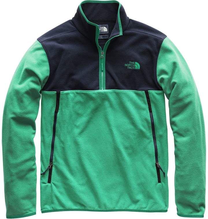 bd2b3230e The North Face Glacier Alpine 1/4-Zip Fleece Pullover Jacket - Men's ...