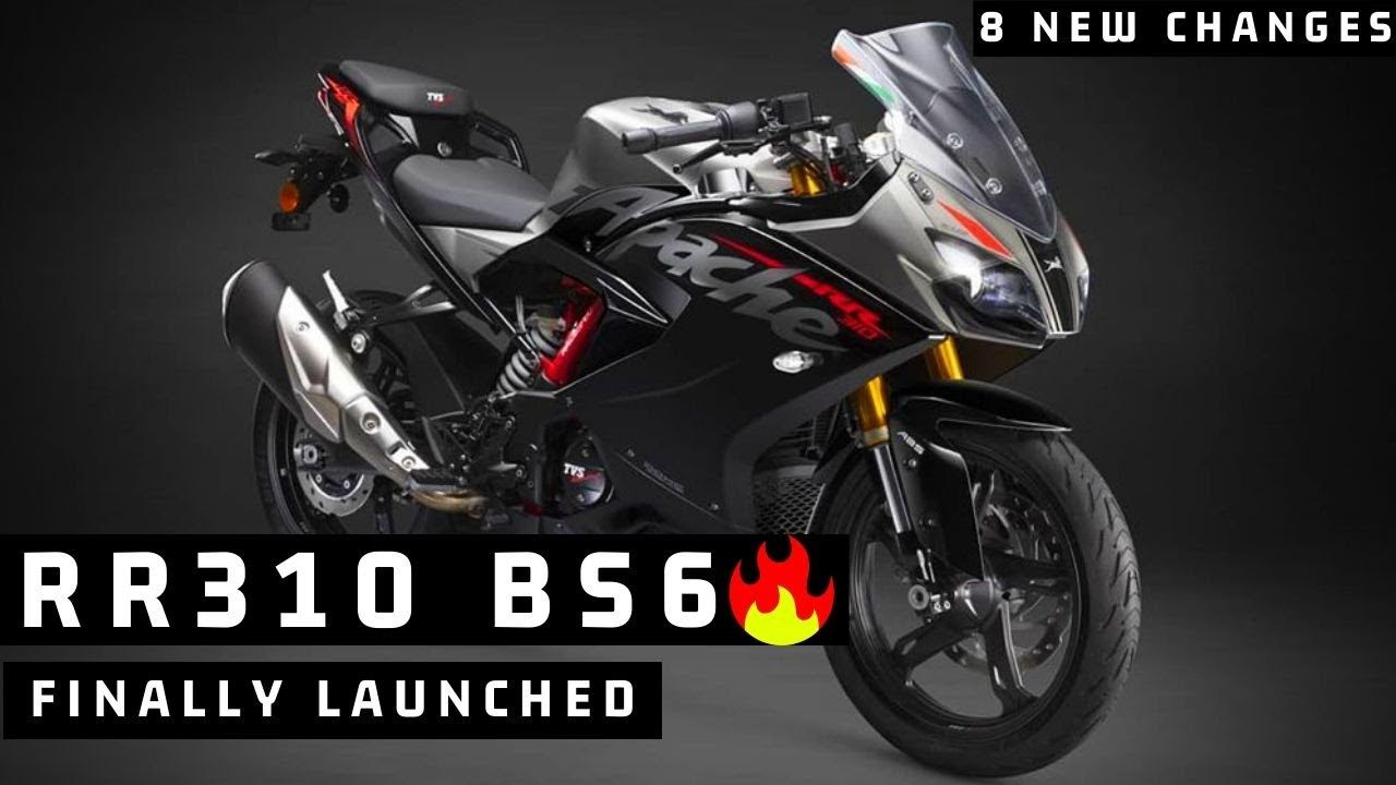 Finally 2020 Tvs Apache Rr 310 Bs6 Launched 8 New Changes