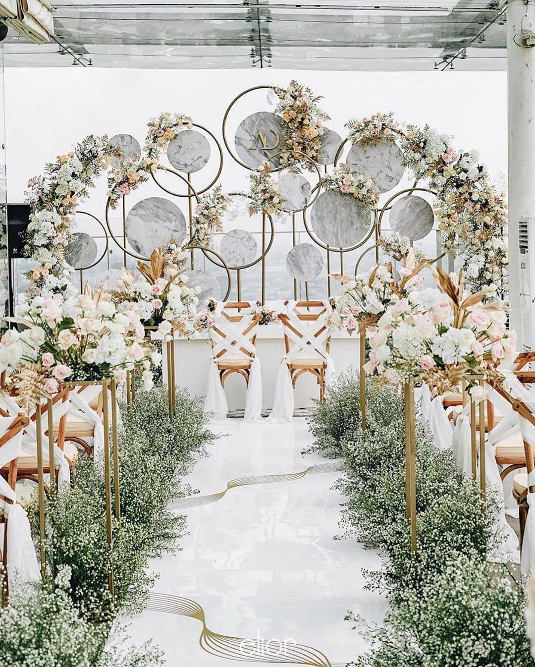 Modern Wedding Australia On Instagram Imagine Floating Down This Aisle Talk About A Wedding Dream D In 2020 Brides Table Wedding Marketing Wedding Modern