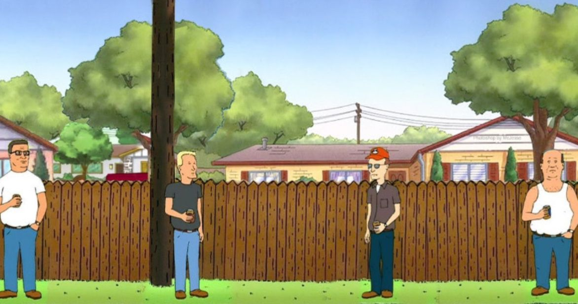 'King of the Hill' Characters Are Social Distancing in