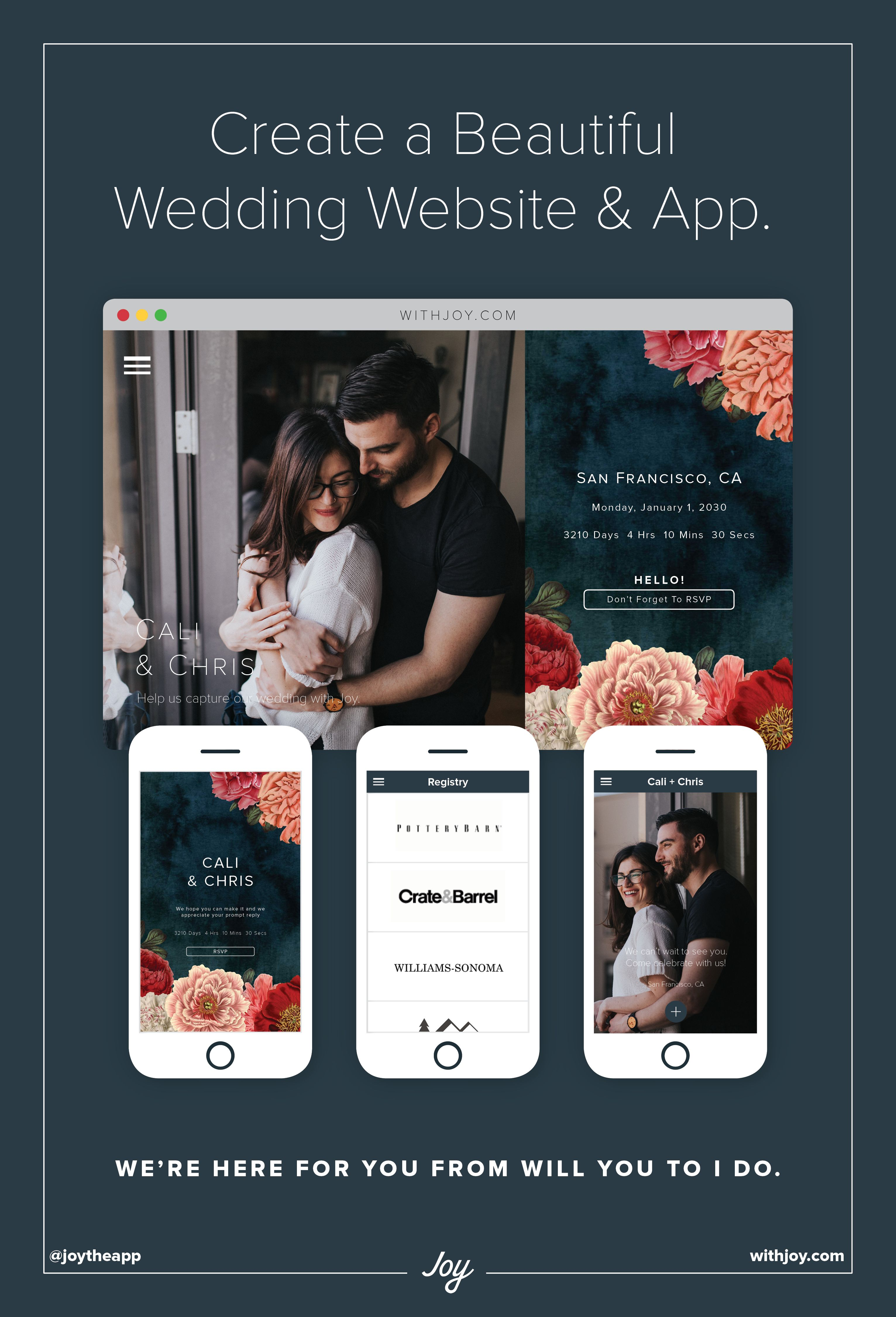 Manage RSVPs Share Wedding Day Details And More With A Free Website