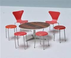 Sedie Jacobsen ~ Miniature designer chair ant arne jacobsen **free shipping