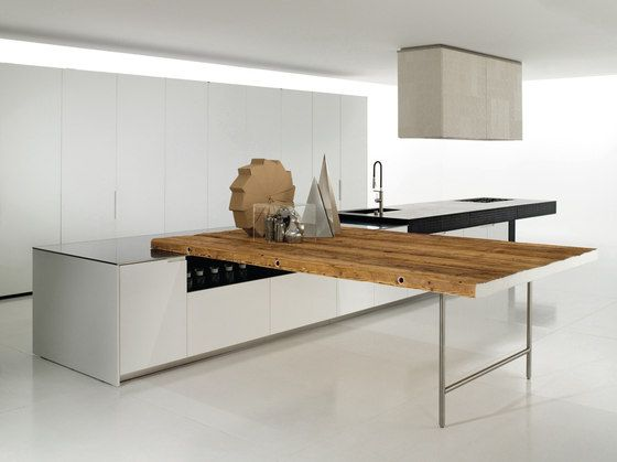 wood top by boffi. | kitchens | pinterest | fitted kitchens ... - Boffi Cucina