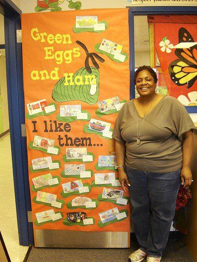 Dr. Seuss Green Eggs and Ham Classroom Door Decorations by ...