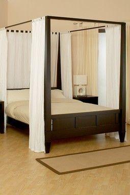Wilshire Eastern King Bed   Dark Cappuccino Günstige Schlafzimmersets,  Baldachin Schlafzimmer Sets, Himmelbettvorhänge