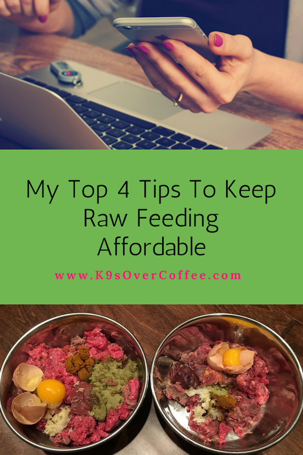 K9sOverCoffee | My Top 4 Tips To Keep Raw Feeding Affordable