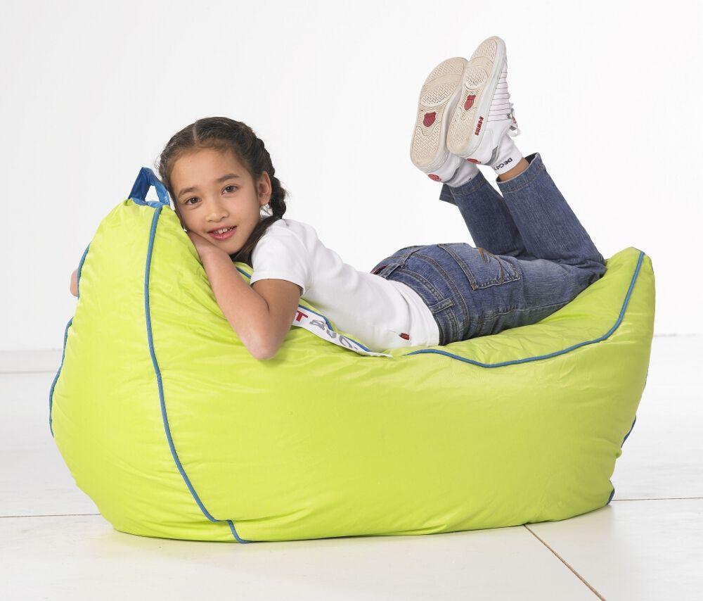 Zitzak Sit En Joy Blauw.Idea Make In Plarn For Garden Sit And Joy Banana Zitzak Lime