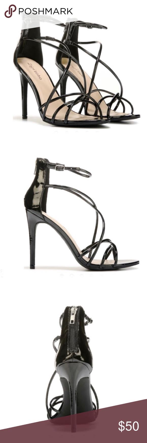 a55fadc4f572 Zigi Soho Black Blaker Dress Sandals-10 NWT You ll shine at your next