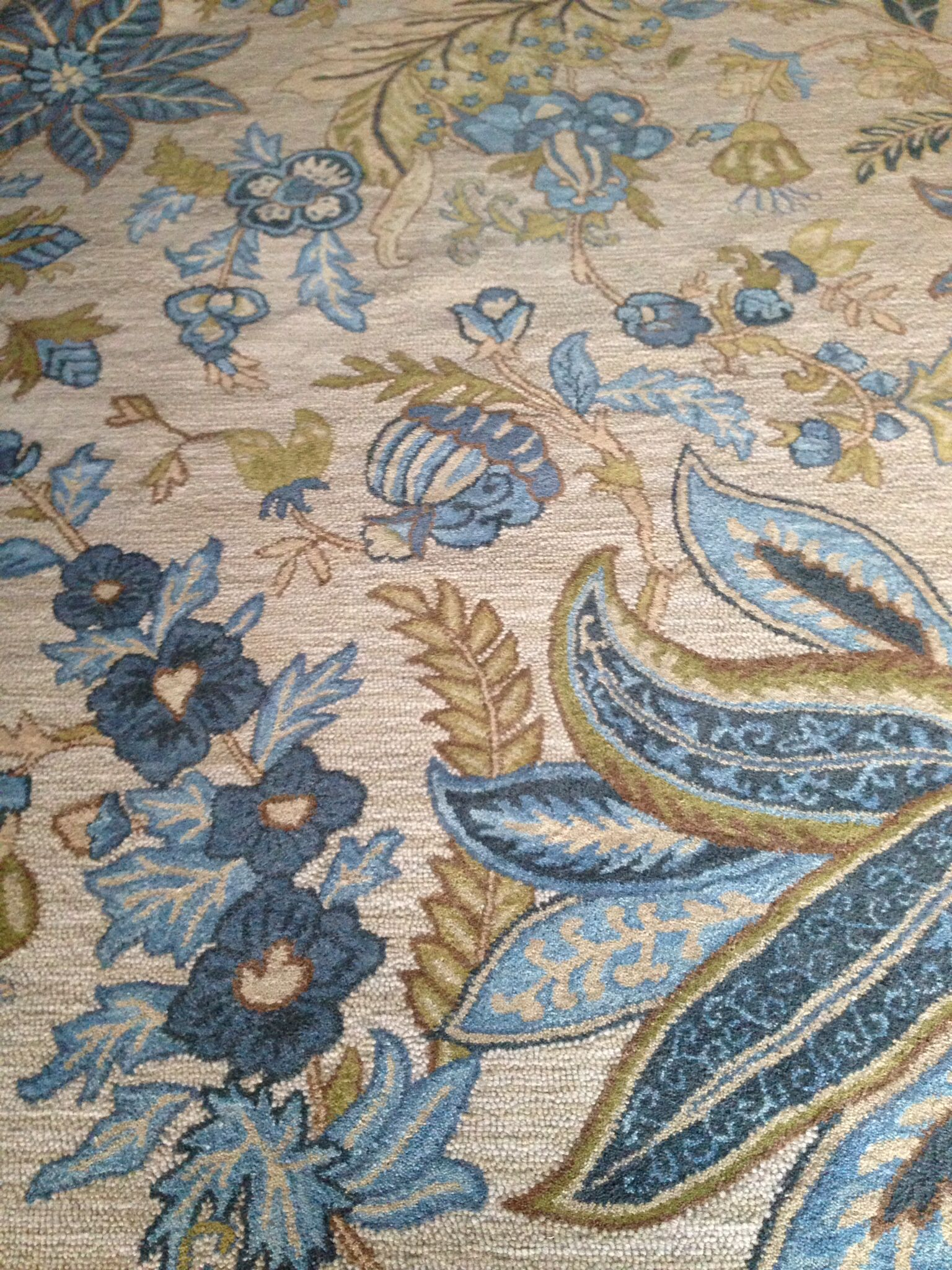Area Rug Purchased At Tuesday Morning