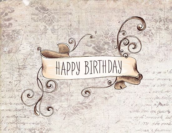 Wish Your Loved Ones A #HappyBirthday In Vintage Style