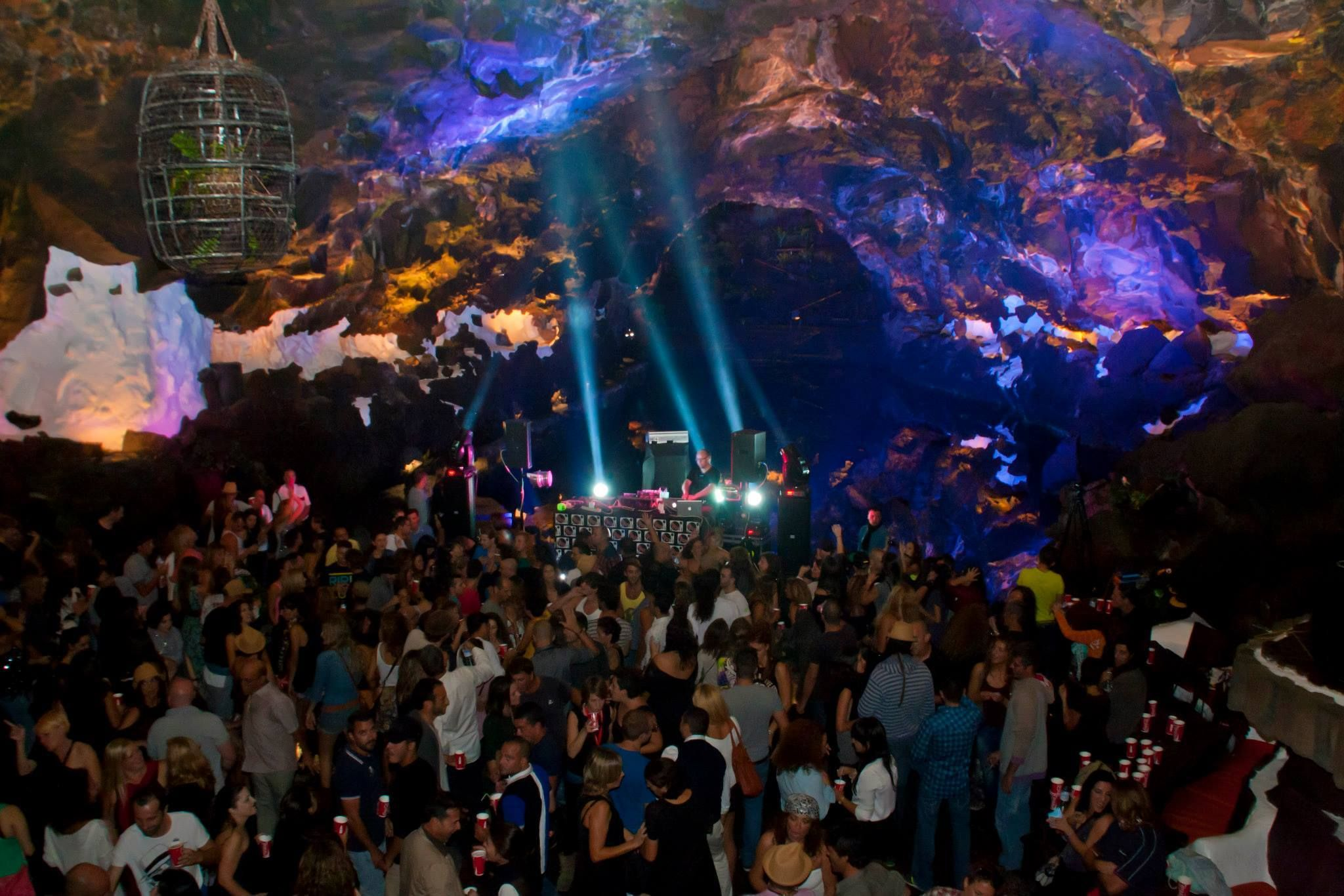 caves jameos del agua at lanzarote island spain suposedly a music festival is being held. Black Bedroom Furniture Sets. Home Design Ideas