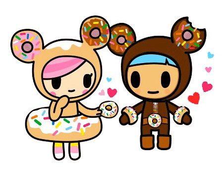 Donut Tokidoki And Donutella Image On We Heart It Kawaii Drawings Tokidoki Characters Valentines Wallpaper