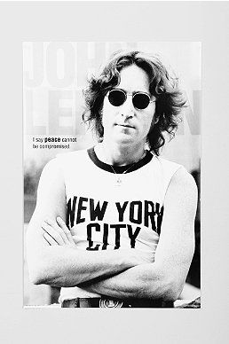 John Lennon NYC Poster Cheap