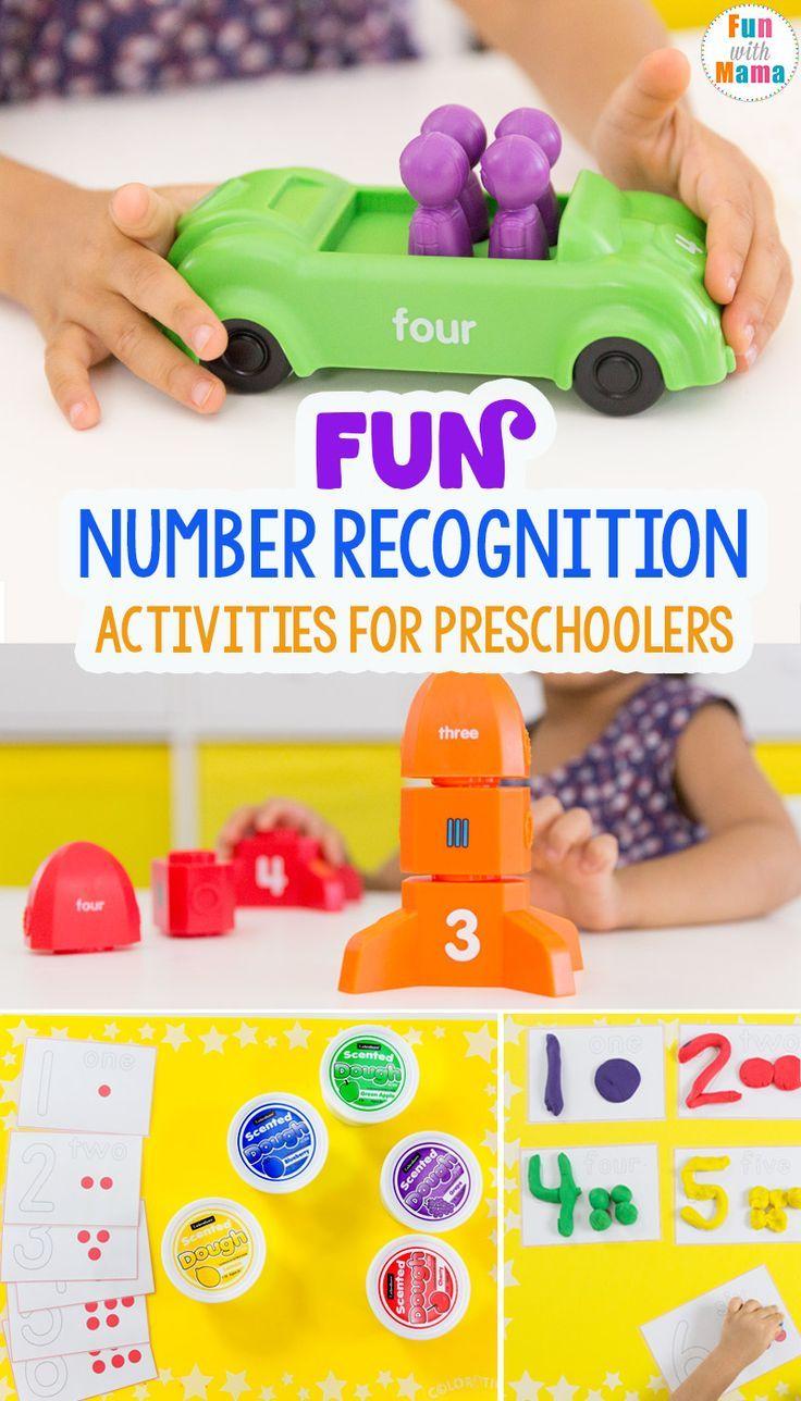 Fun Number Recognition Activities For Preschoolers