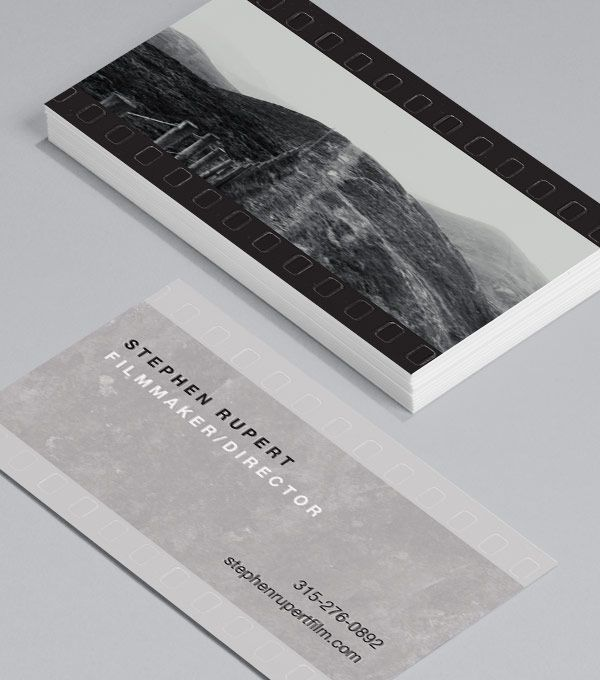 Negative finish design for filmmakers business cards heroes negative finish design for filmmakers business cards heroes exactly what they love the brooding beautiful moody imagery the epic nature of film colourmoves