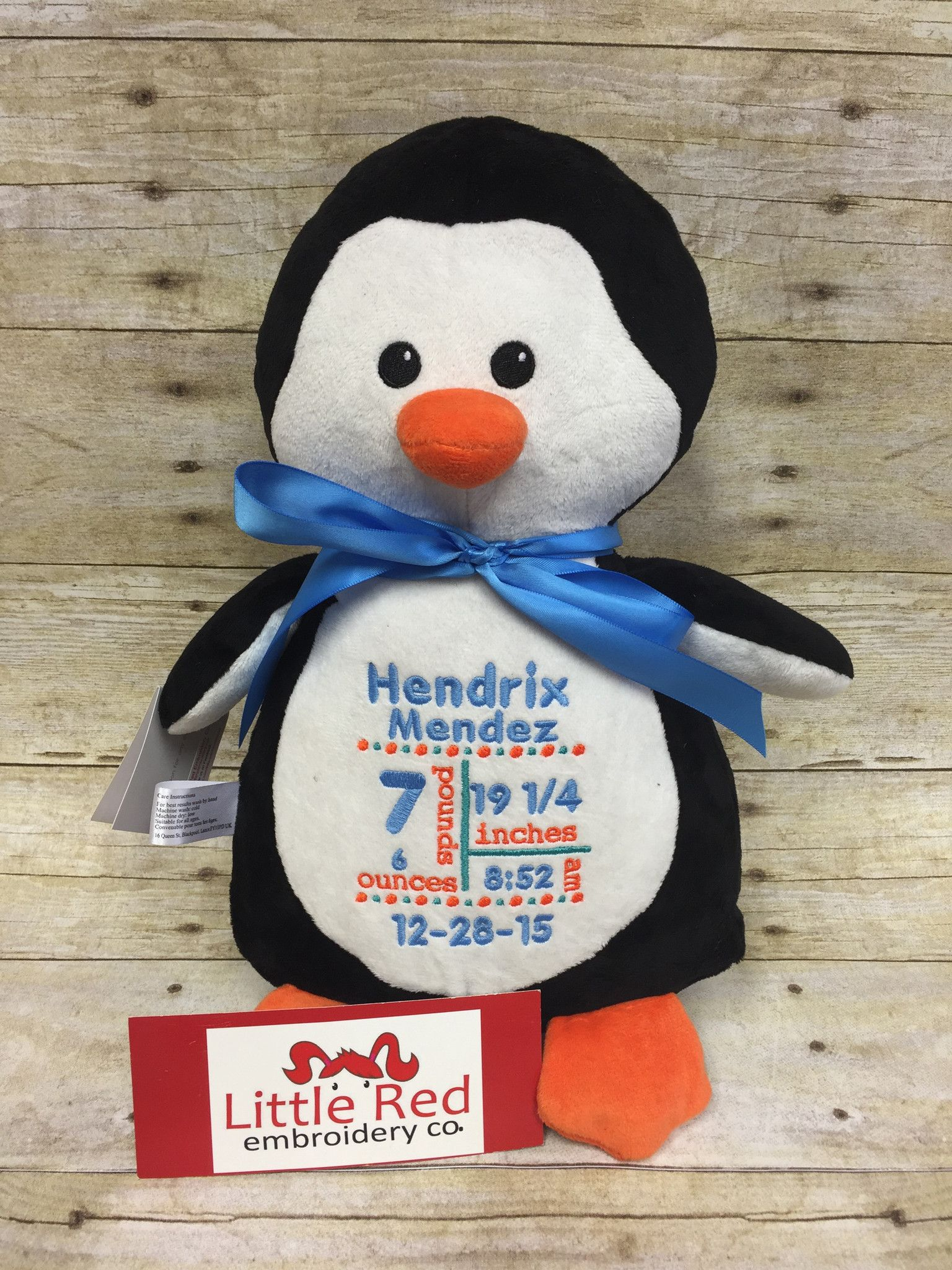 Cubbies™ Penguin With Custom Embroidery