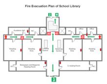 3 Bed Floor Plan Free 3 Bed Floor Plan Templates School Floor Plan Emergency Evacuation Plan Hotel Plan