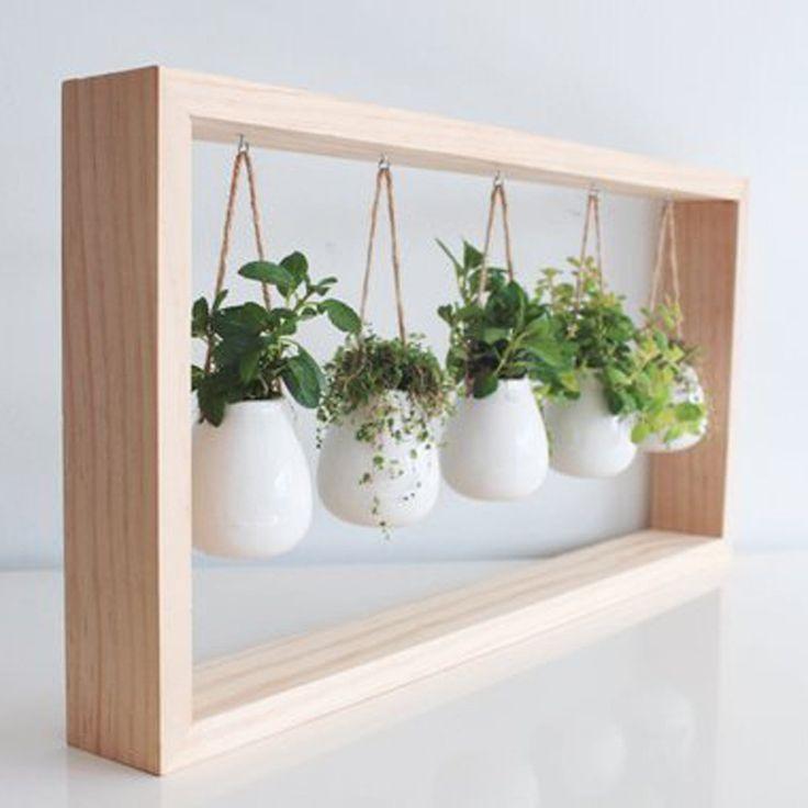 10 Charming Indoor Herb Garden Planters In 2020 Indoor Herb Garden Herb Garden Planter Herb Garden Pots