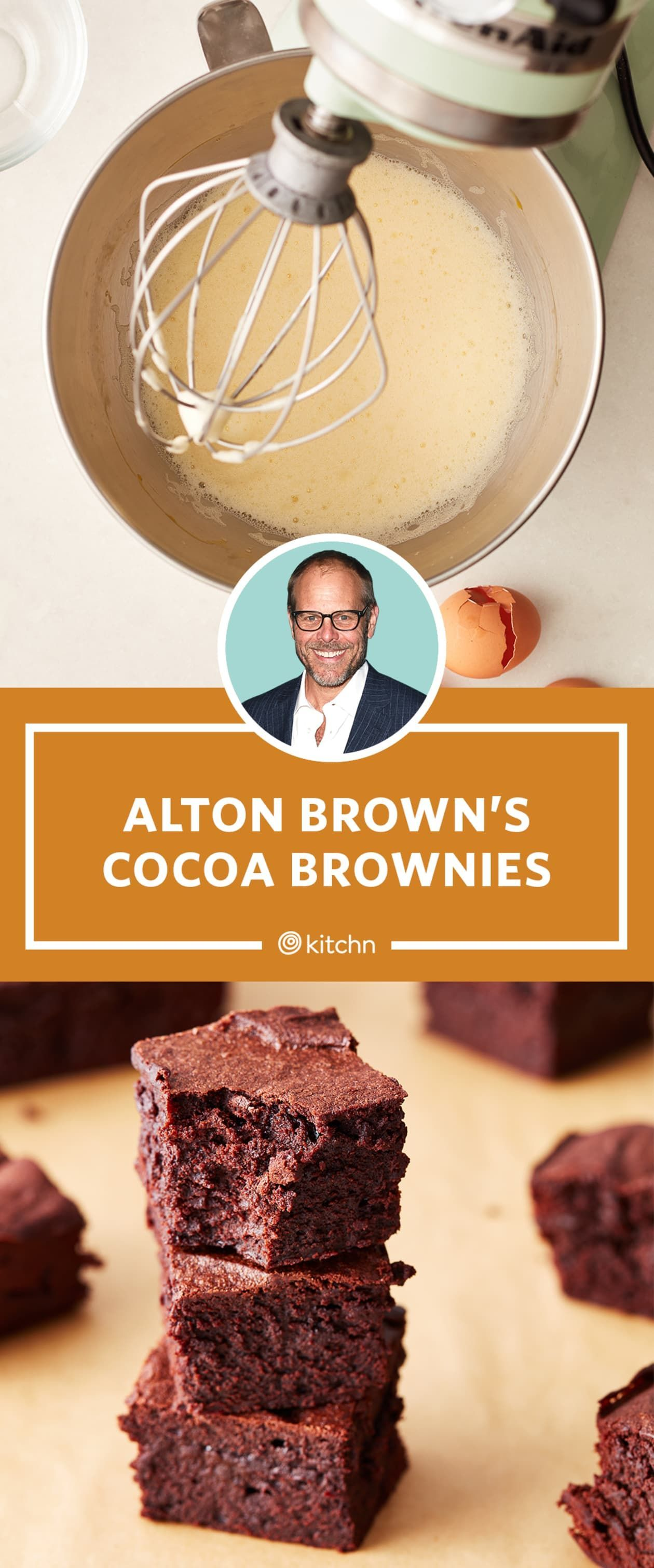 Alton Brown Has a Clever Trick for Making the Best Brownies Ever -