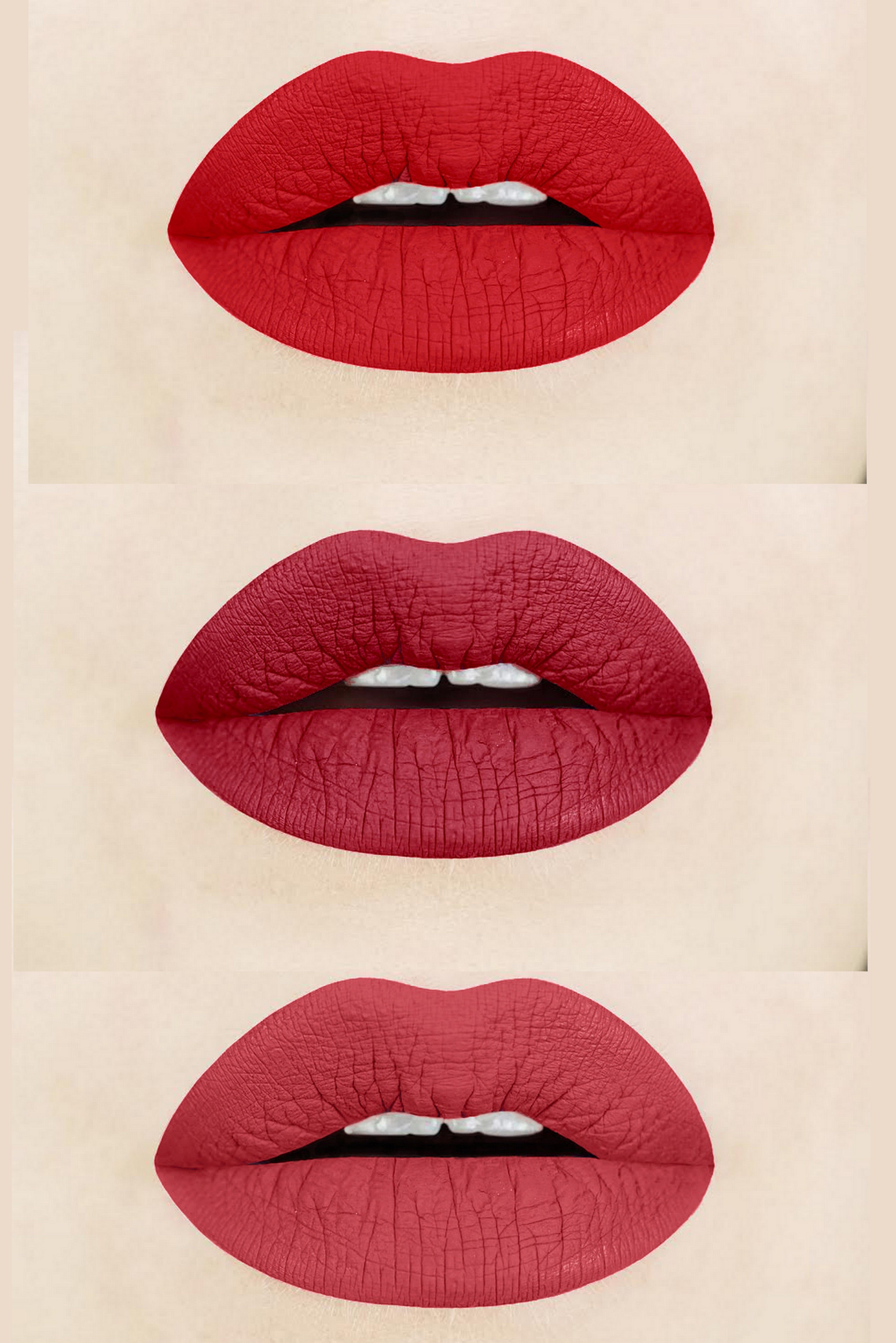 Flamenco Power Brick Red Matte Liquid Lipstick 17 Each Shade Is Handcrafted In Small Batches Red Liquid Lipstick Lipstick Cruelty Free Liquid Lipstick