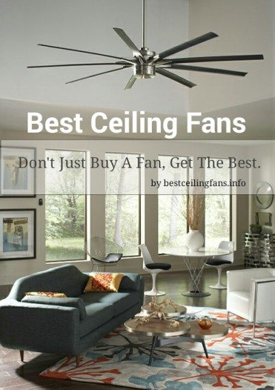 . A Look At The Top Rated Ceiling Fans in 2019   Lighting ideas   Best