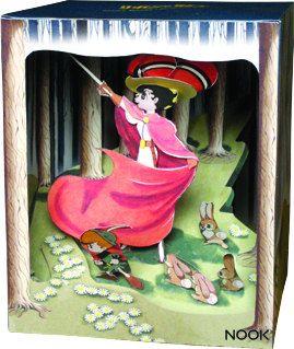 DIY paper diorama OSAMU TEZUKA Princess knight by NOOKatmosphere