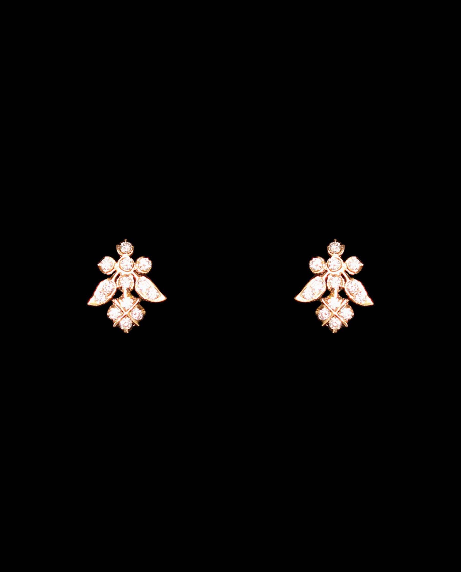 Diamond Eartops | Earrings simple | Pinterest | Diamond, Ear rings ...