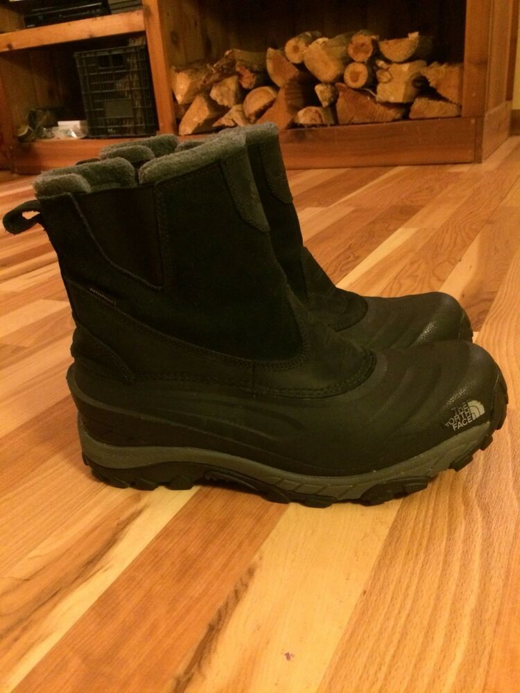 0dbbccc95 The North Face Chilkat III Pull-On Winter Boots Men's Size 11 Black ...