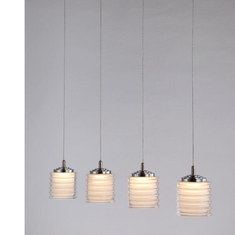 Boley 4 Light Led Cluster Cylinder Pendant Led Lights Ceiling Pendant Lights Light