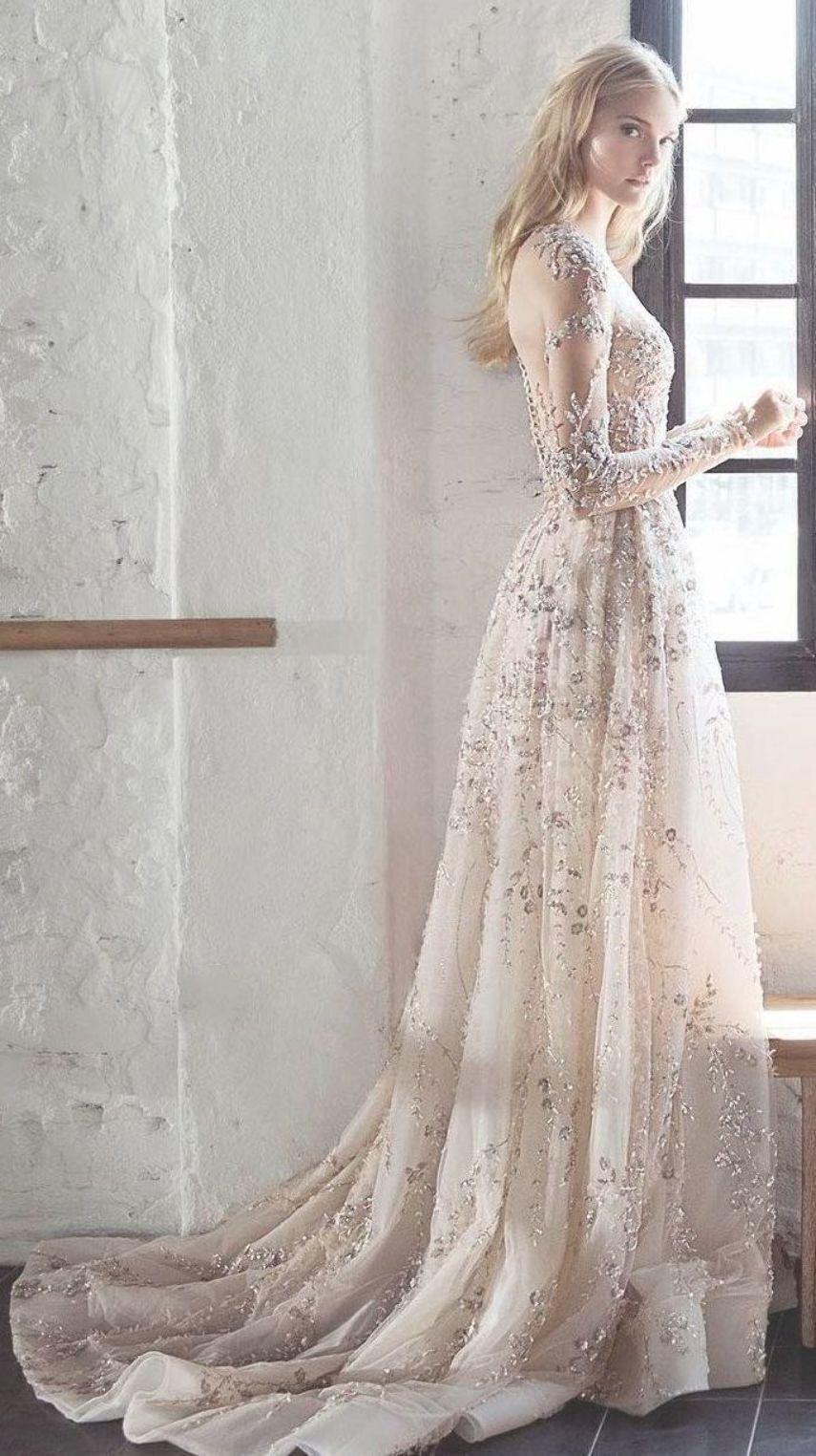 Tempting Wedding Dresses With Long Sleeves Fbartellcartwright Gaun Perkawinan Pakaian Pesta Model Pakaian