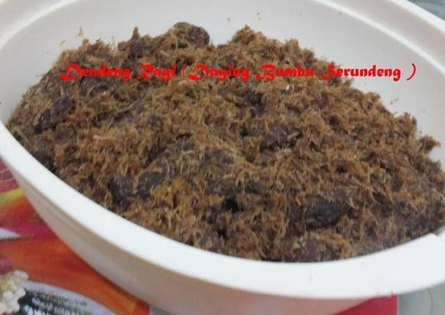 Resep Dendeng Ragi Daging Bumbu Serundeng Oleh Lisa Marlina Resep Dendeng Resep Masakan Indonesia Resep Makanan