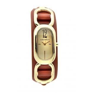 Reloj Caramelo esfera oro